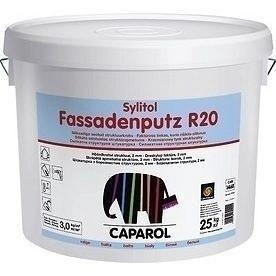 Штукатурка дисперсионная Sylitol Fassadenputz R 20 25 кг белая