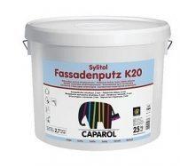 Шпатлевка дисперсионная Caparol Sylitol Fassadenputz K 20 25 кг белая