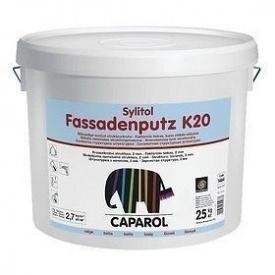 Шпаклівка дисперсійна Caparol Sylitol Fassadenputz K 20 25 кг біла