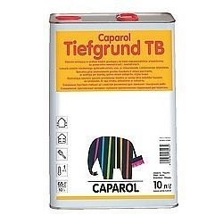 Грунтовка на основе растворителя Caparol Caparol Tiefgrund TB 10 л прозрачная