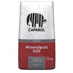 Минеральная штукатурка Caparol Capatect Mineralputz K 50 25 кг белая
