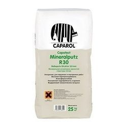 Штукатурка минералльная Caparol Capatect-Mineralputz R20 25 кг белая
