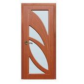 Дерев'яні двері ПВХ Sherwood Пальміра 600 мм горіх