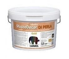 Шпатлевочная масса Caparol StuccoDecor DI PERLA 2,5 л золотистая