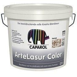 Лазурь настенная Caparol Capadecor ArteLasur Color 2,5 л прозрачная