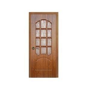 Дерев'яні двері ПВХ Sherwood Прімера 900 мм золотистий дуб