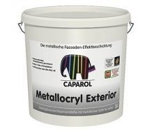 Краска дисперсионная Caparol Capadecor Metallocryl Exterior 10 л серебряный металлик