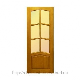 Міжкімнатні дерев'яні двері (R-030G)