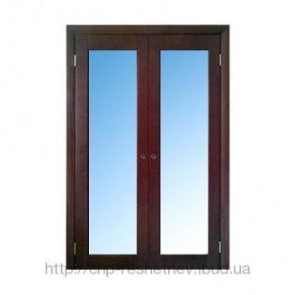 Міжкімнатні дерев'яні двері (R-012DG)