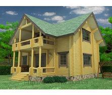 Дерев'яний житловий будинок 110 м2