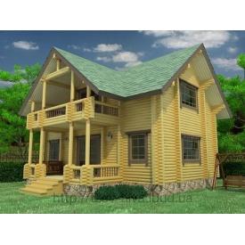 Деревянный жилой дом 110 м2