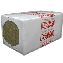 Плита изоляционная IZOVAT 65 1000х600х240 мм