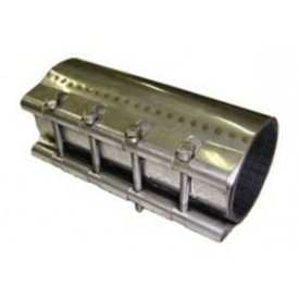 Ремонтний хомут для чавунних трубопроводів 57 мм