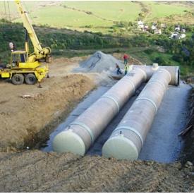 Универсальная система трубопроводов HOBAS из стеклопластика 1000 мм