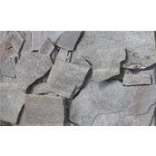 Камінь кварцит гладкий 1 см сіро-червоний