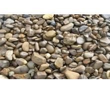 Галька горная из песчаника коричневая 20-40 мм