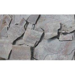 Камень кварцит гладкий 1 см серо-красный