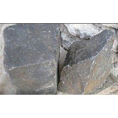 Камінь базальтовий бутовий чорно-жовтий