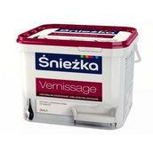 Матовая латексная краска Sniezka Vernissage 3,5 кг снежно-белая