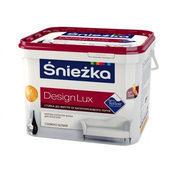 Матовая латексная краска Sniezka Design Lux 3,5 кг снежно-белая