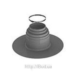 Уплотнитель сантехнических трапов VILPE ПВХ 100 мм темно-серый