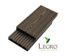 Террасная доска Legro пустотелая 150x25x5800 мм