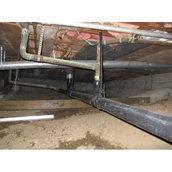 Установка труби сталевої водопровідної 76 мм