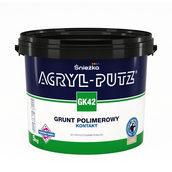 Грунтовка полимерная Sniezka Acryl-putz GK42 контакт 5 кг