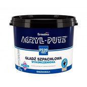 Финишная шпаклевочная гладь Sniezka Acryl-putz fs 20 finisz 1,5 кг белоснежная