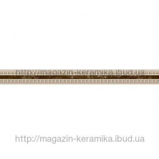 Керамічна плитка Inter Cerama EMPERADOR фриз вертикальний вузький 40,5х500 мм