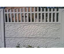 Забор декоративный железобетонный №3 Прозрачный 2х2 м