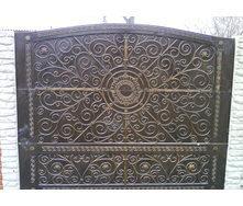 Забор декоративный железобетонный №11 Ковка 2х2 м