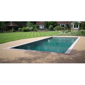 Покриття для басейну натуральна галька Suhoffpave