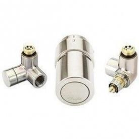 Комплект для підключення до рушникосушки справа Danfoss RAX-set нержавійка (013G4138)