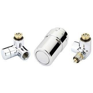 Комплект для подключения к радиаторам справа Danfoss RAX-set нержавейка (013G4009)