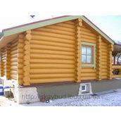 Строительство деревянного дома-сруба