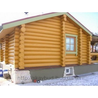 Будівництво дерев'яного будинку-зрубу