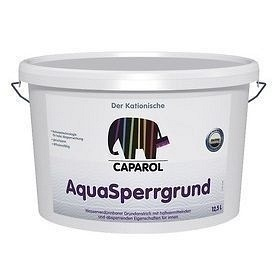 Грунтовка изолирующая Caparol AquaSperrgrund fein 5 л белая