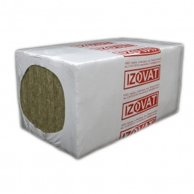 Плита теплоізоляційна IZOVAT 100 LF 1200х240х240 мм