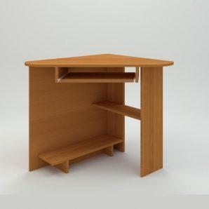 Комп'ютерний стіл Компанит СУ-15 757х757х736 мм вільха