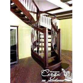 Дерев'яні сходи у стилі лофт