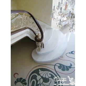 Вінтажні сходи з художньою ковкою