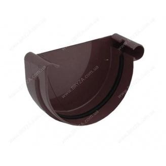 Заглушка желоба правая Bryza R 125 мм