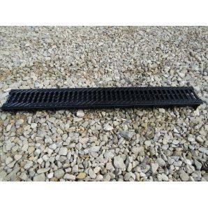 Решетка дорожная пластмассовая (ХП) 790х400x80 мм (р607)
