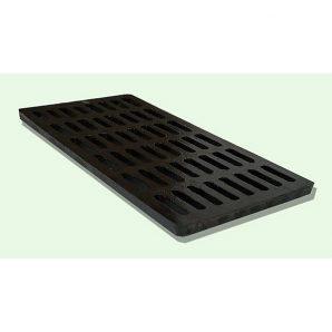 Сливоприемочная решетка чугунная (AC) 505х210x35 мм (р513)
