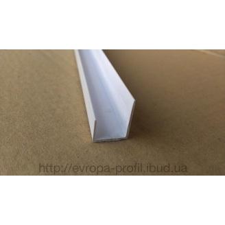 Уголок торцовочный ПВХ для ГК 12,5 мм 3 м