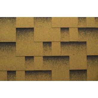 Гибкая черепица Katepal Rocky 1000*317 мм Золотой песок