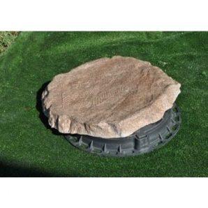 Декоративная крышка Импекс-Груп Плоский камень с рисунком 70х830х830 мм