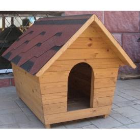 Собача будка дерев'яна