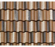 Цементно-песчаная черепица Braas Adria 420х333 мм коричневая